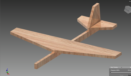 Balsa Wood Glider Design - Barrios Engineering Portfolio